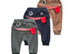 Pantalon survêtement nouveau-né, bébé 3 à 24 mois - Pantalon casual élastique