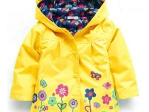 Veste enfant fille automne ou printemps - Imperméable, coupe-vent