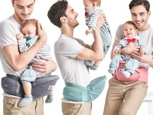 Hipseat pour soulager le dos des parents