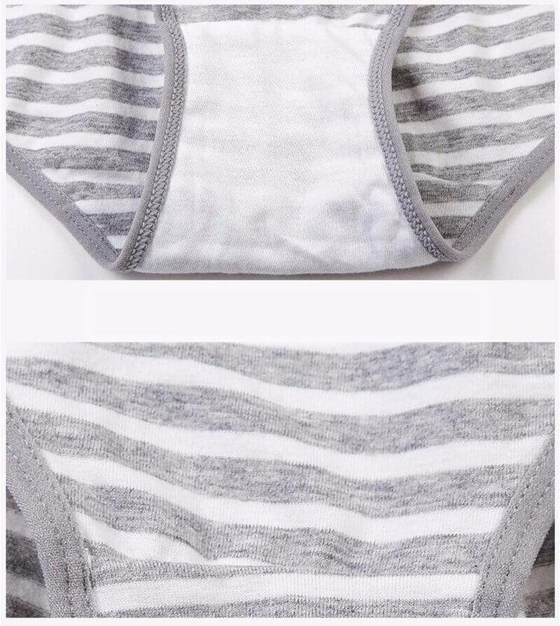 Culotte grossesse tissu coton et élasthanne