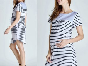 Robe femme enceinte style casual