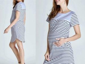 Robe femme enceinte style casual