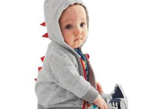 Veste dinosaure pour bébé garçon