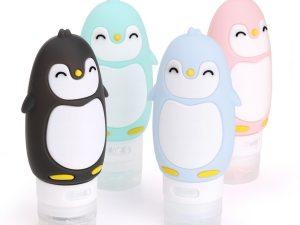 Flacons de shampoing bébé