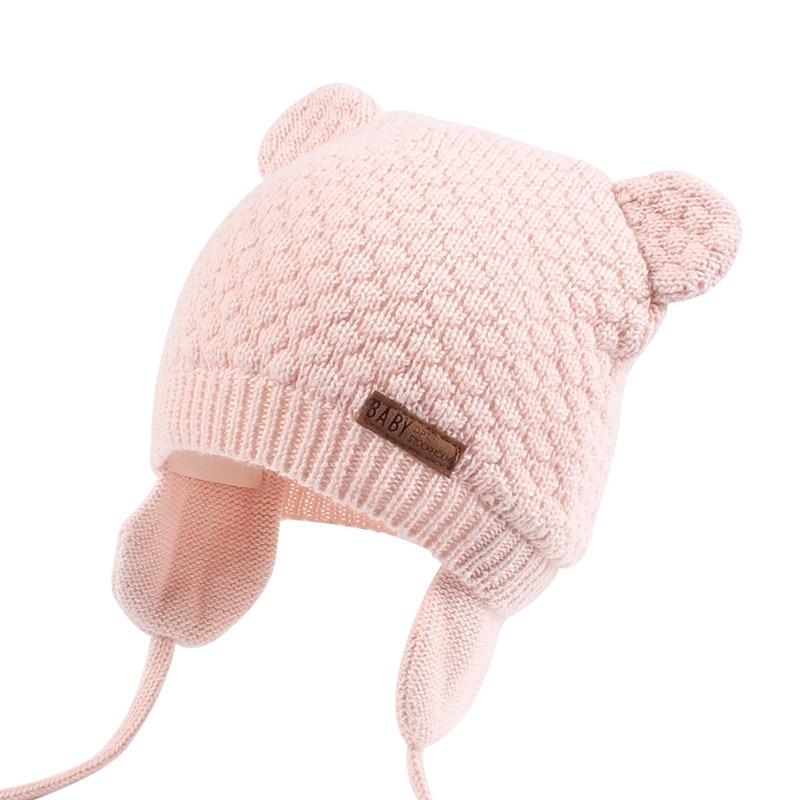 pas cher pour réduction acheter en ligne gamme exceptionnelle de styles Bonnet bébé fille ou garçon - Doublure coton et cache-oreilles