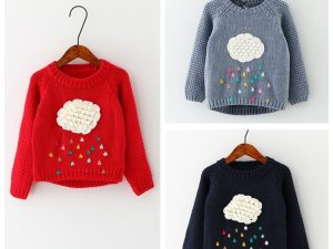 Pulls en laine hiver fille