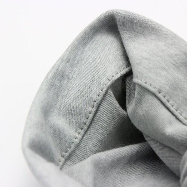 Détail du bonnet turban pour bébé
