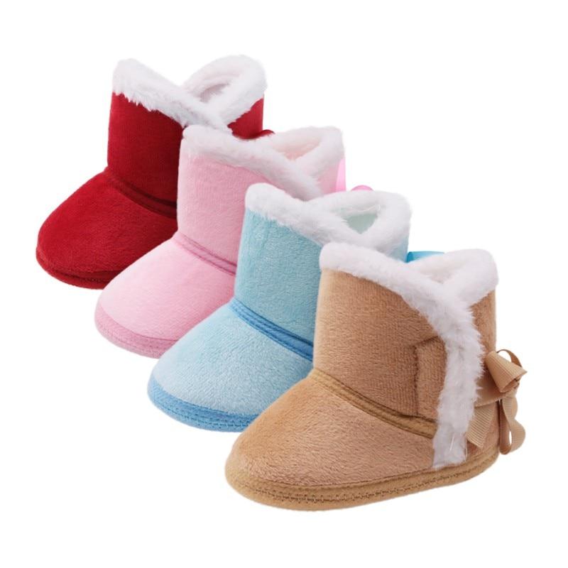 Boots en suédine fourrées bébé