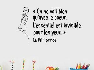 Sticker mural Le Petit Prince chambre de garçon