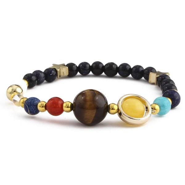 Bracelet système solaire 8 planètes