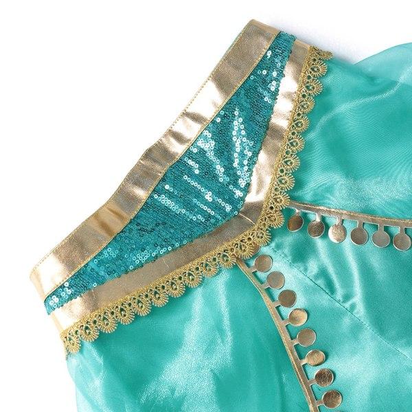 Détail pantalon déguisement Jasmine fille