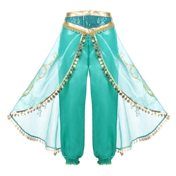 Pantalon déguisement Jasmine fille