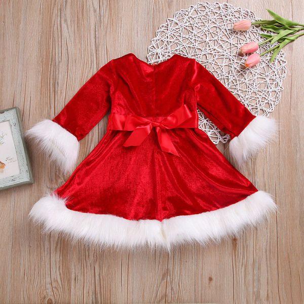 Magnifique robe pour Noël (vue de dos)