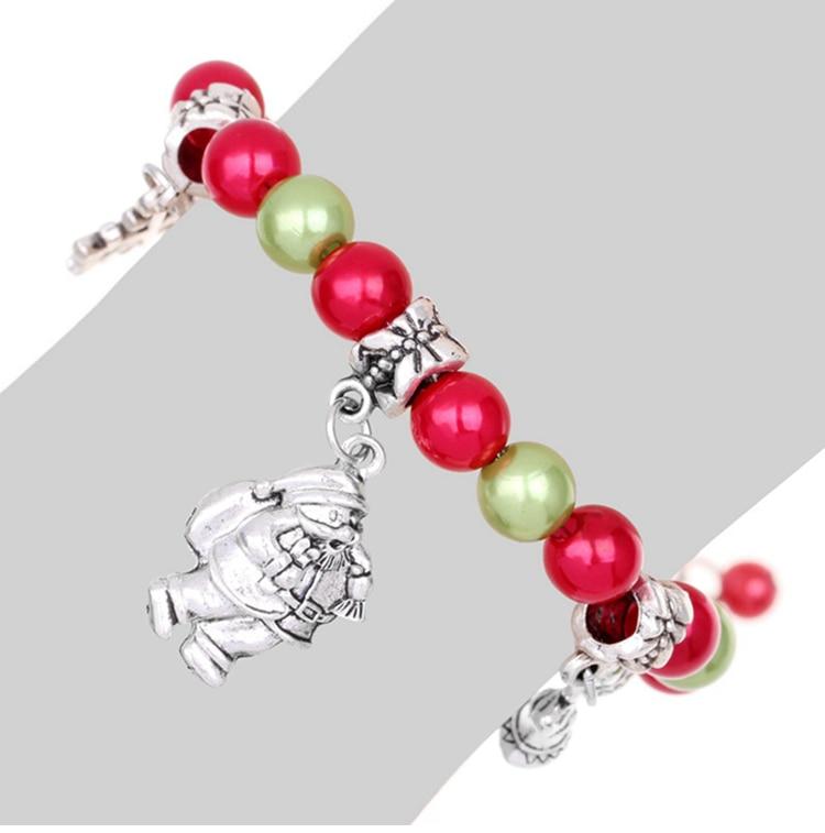 Bracelet père Noël - Cadeau enfant fille