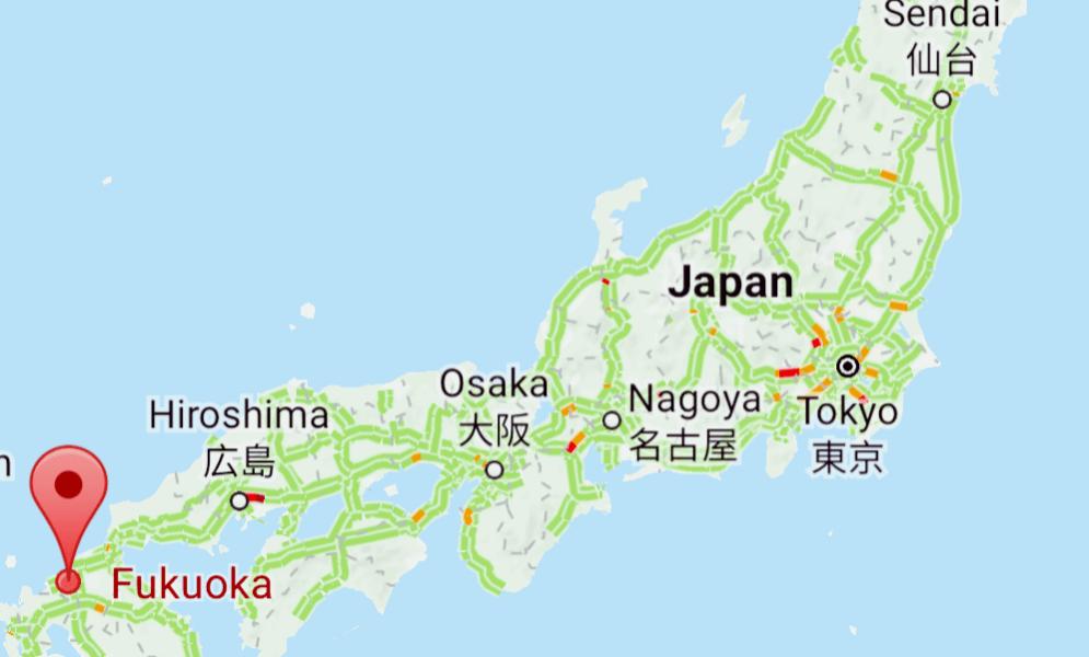 Southern Japan – Fukuoka