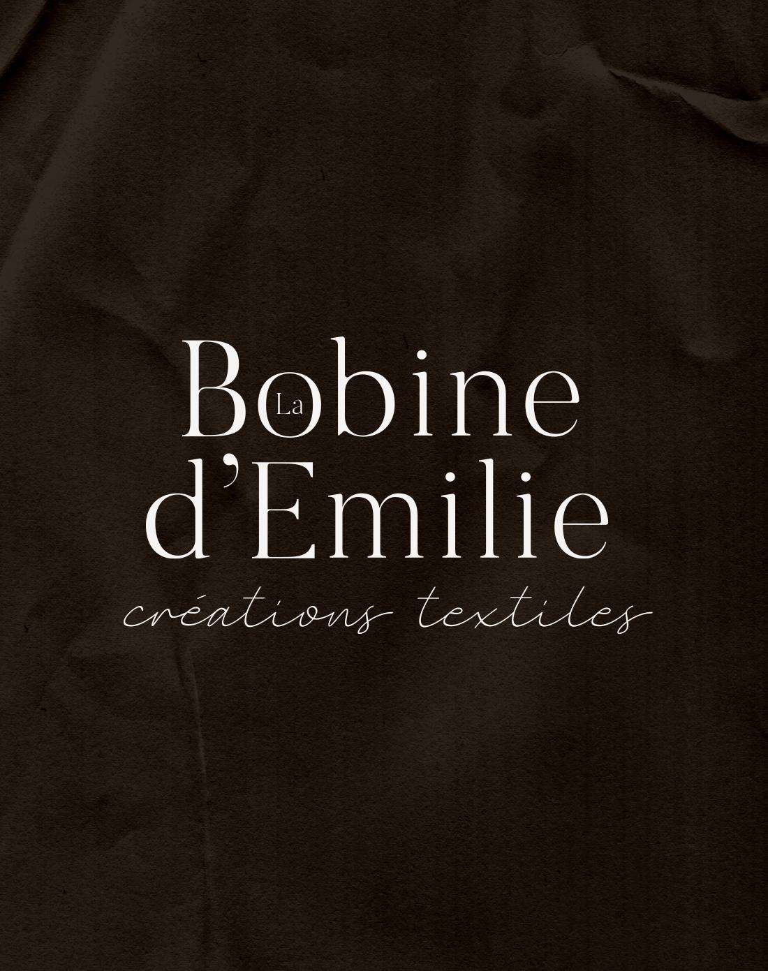 Création identité visuelle La Bobine d'Emilie