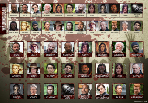 Guess Who? Extra The Walking Dead-Red