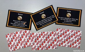 Bomb Jack: The Board Game Fire Bomb Cards