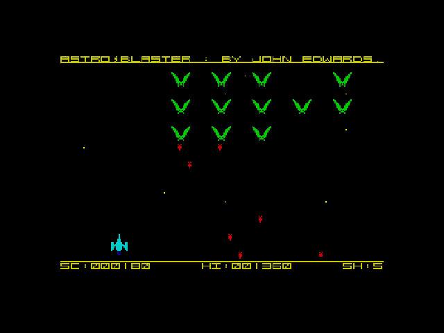 Astro Blaster Spectrum