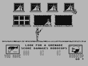 Robocop Atari 8bit Family