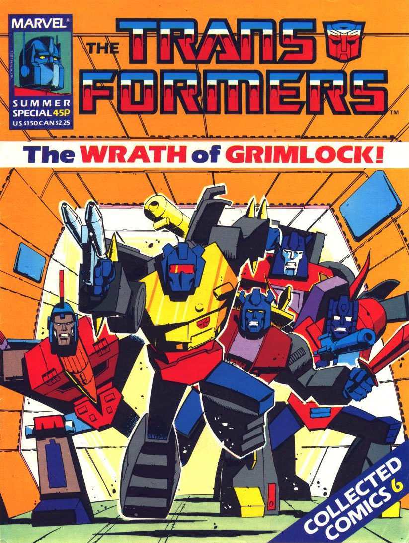 The Transformers Comic Book Memories