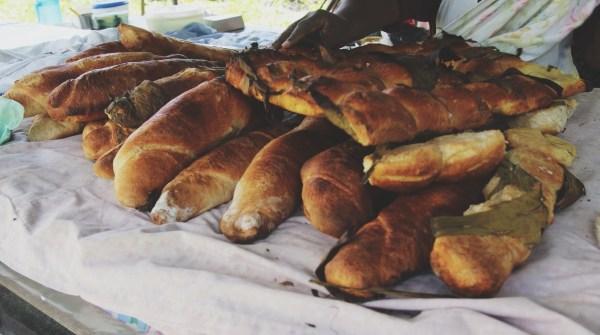 Clay Oven Bread, Tobago