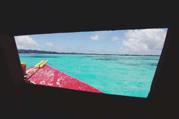 Glass Bottom Boat, Buccoo Reef | Tobago