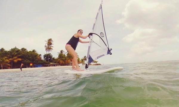 Wind-Surfing, Pigeon Point | Tobago