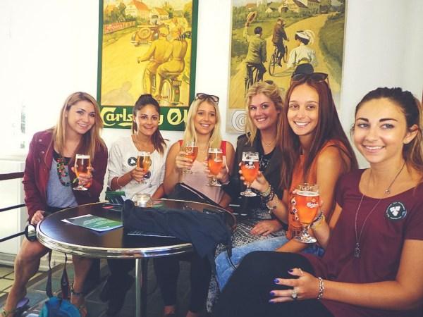 Beer tasting at Carlsburg Brewery- Copenhagen, Denmark