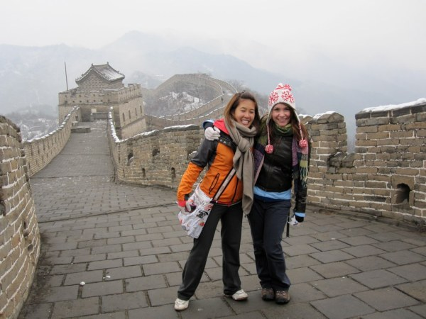 Great Wall Kristy and Nadine Mutianyu