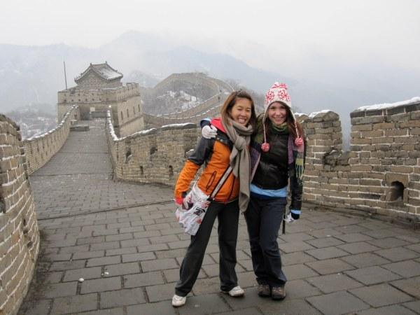 Great Wall Kristy and Nadine Mutianyu