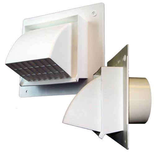 intake or exhaust vent hood for 4 ducting