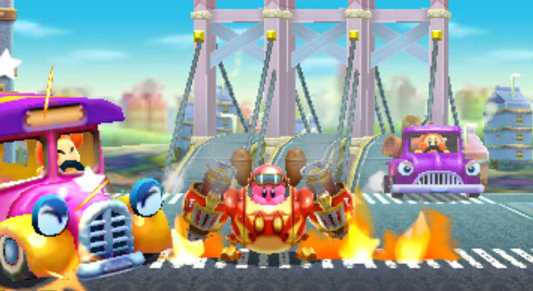 Kirby Planet Robobot Review 3DS Hey Poor Player