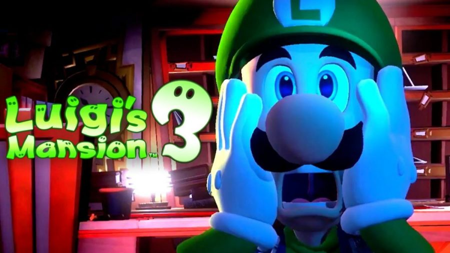 Image result for Luigi's Mansion switch