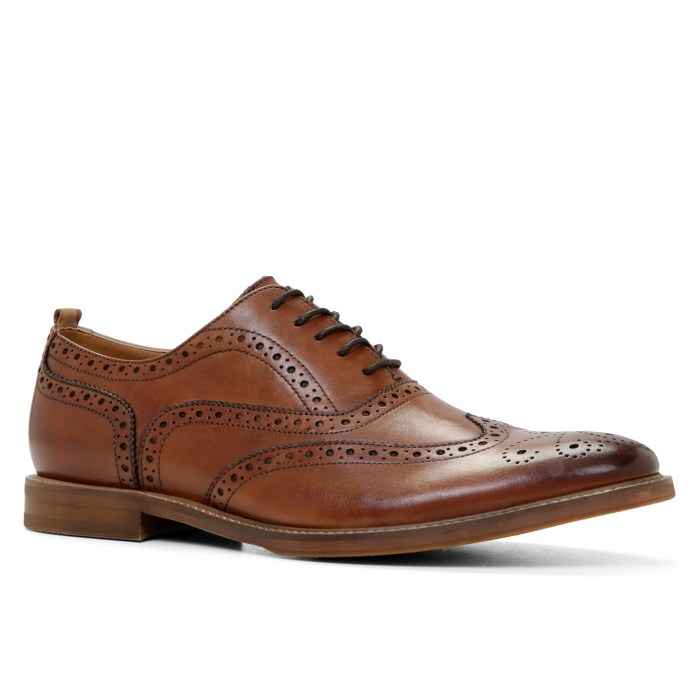 HeyRashmi gift guide: Aldo Piralle Oxford Brogues in Cognac