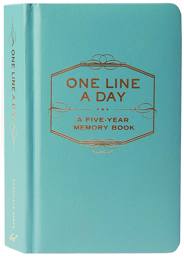 HeyRashmi gift guide- One Line A Day Memory Book