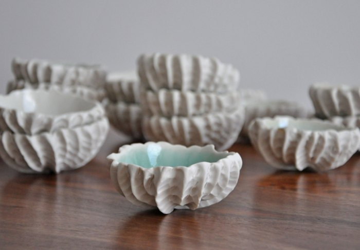 HeyRashmi gift guide - Small Scallop Bowl by ElementClayStudio