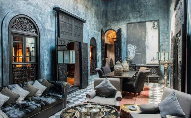 HeyRashmi home decor ideas - Moroccan hotel Dar Darma