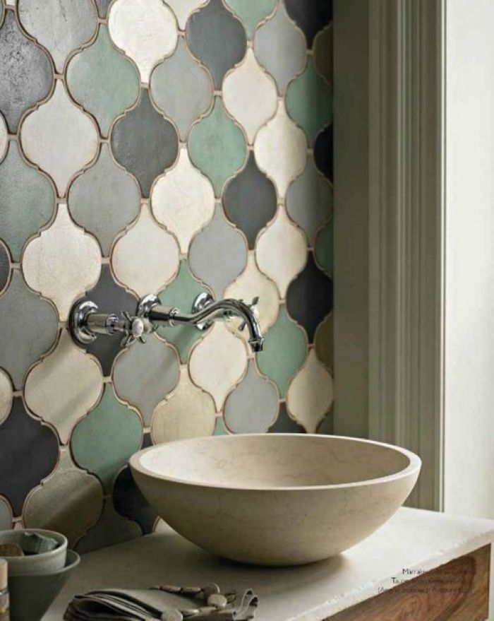 HeyRashmi home decor ideas - Moroccan wall tiles