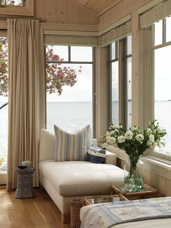 HeyRashmi home decor ideas - neutral window nook