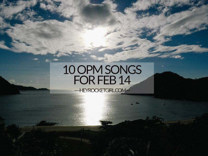 10 SONGS FOR FEB 14