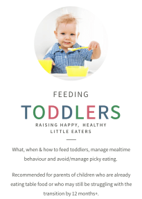 Baby Led Weaning Course Discount Feeding Littles Toddler Feeding course