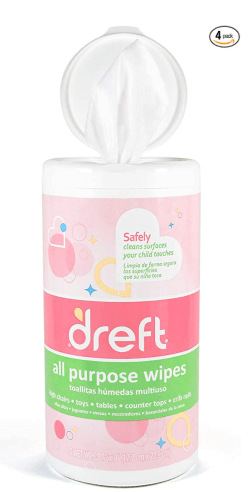 disinfecting wipes for potty training