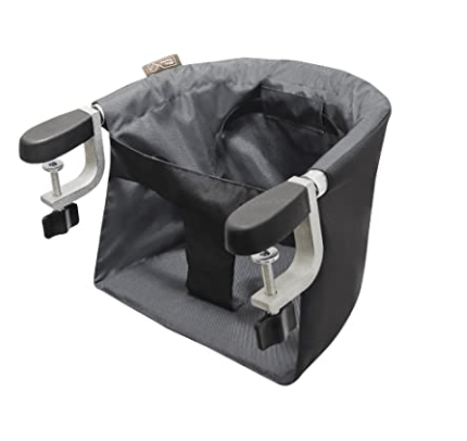 what you need when traveling with a baby  portable high chair
