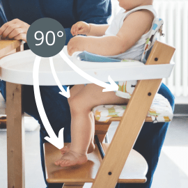 How to choose the best high chair 90 degree angles
