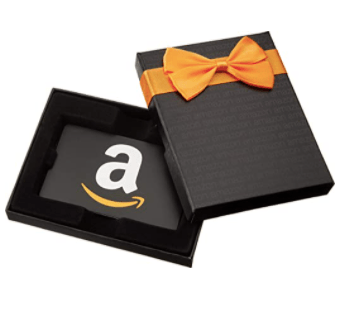 amazon gift card for a minimalist registry