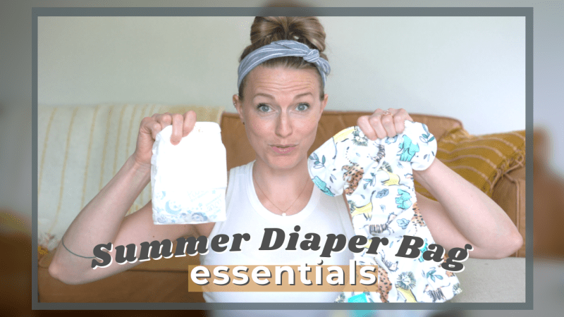 summer pampers pure hybrid diper bag esseintals