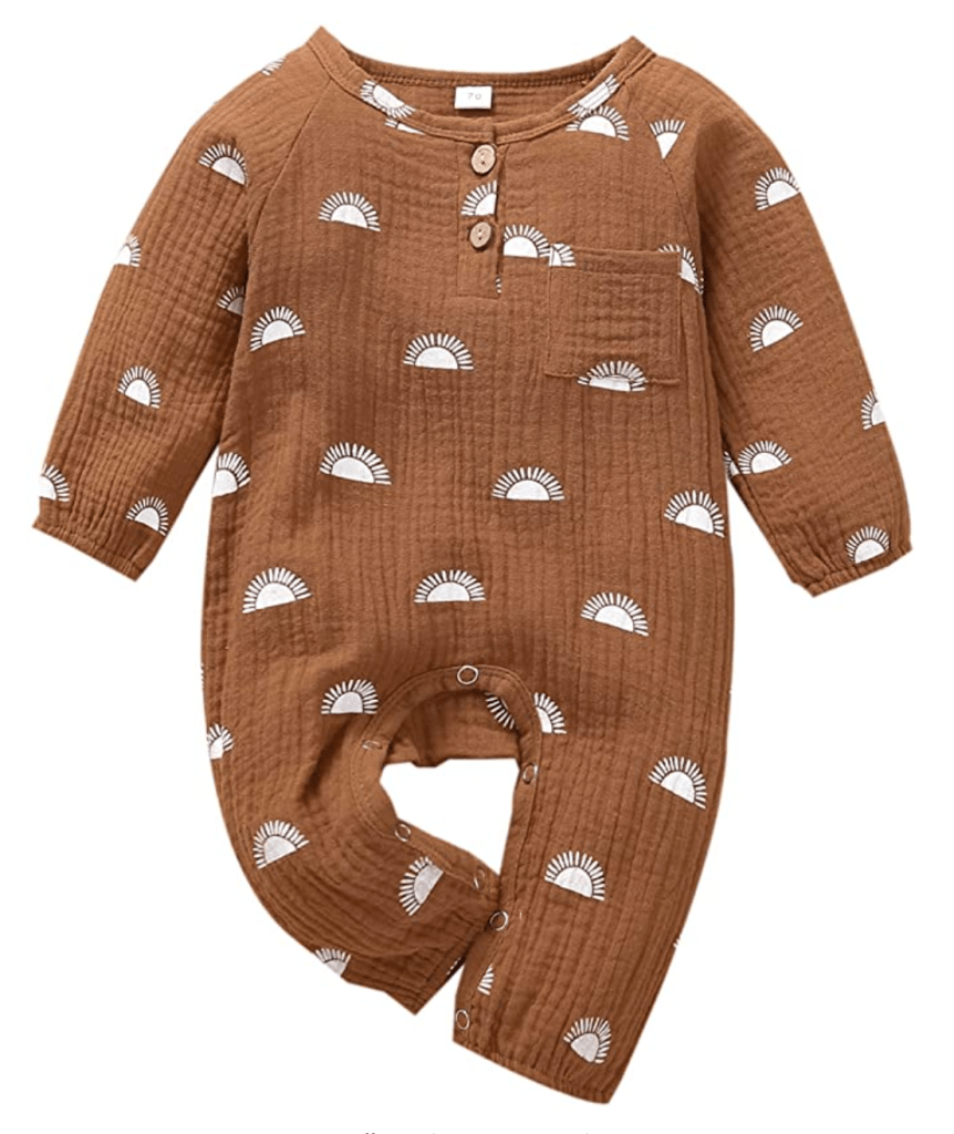 neutral baby clothes for a minimalist registry