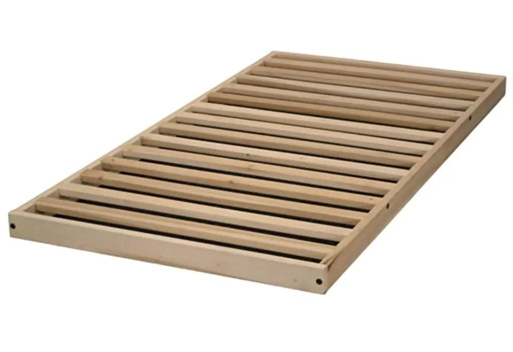 No crib floor bed frame \