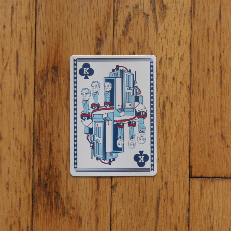 Chicago Playing Card: The Daley Machine